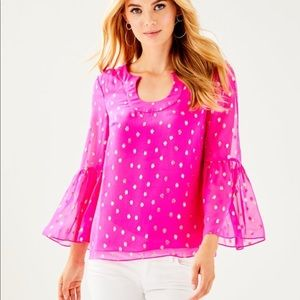 Lilly Pulitzer Amory Top XXS NWT